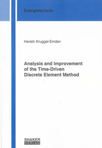 Analysis and Improvement of the Time-Driven Discrete Element Method | Dodax.ch