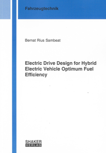 Electric Drive Design for Hybrid Electric Vehicle Optimum Fuel Efficiency | Dodax.ch