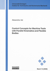 Control Concepts for Machine Tools with Parallel Kinematics and Flexible Bodies | Dodax.ch