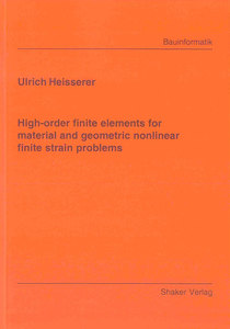 High-order finite elements for material and geometric nonlinear finite strain problems | Dodax.ch