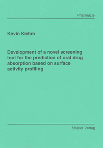 Development of a novel screening tool for the prediction of oral drug absorption based on surface activity profiling | Dodax.ch