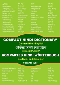 Kompaktes Hindi-Wörterbuch / Compact Hindi Dictionary | Dodax.ch