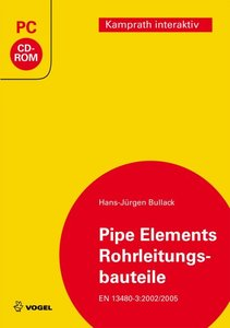 Rohrleitungsbauteile, CD-ROM. Pipe elements, CD-ROM | Dodax.at