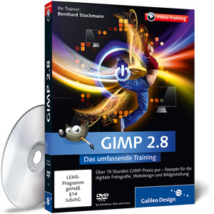 GIMP 2.8, DVD-ROM | Dodax.at