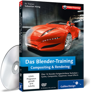 Das Blender-Training: Compositing & Rendering, DVD-ROM | Dodax.ch