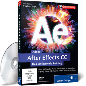 Adobe After Effects CC - Das umfassende Training, DVD-ROM | Dodax.at