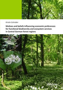 Motives and beliefs influencing economic preferences for functional biodiversity and ecosystem services in Central German forest regions | Dodax.at