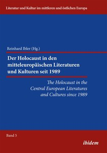 The Holocaust in the Central European Literatures and Cultures since 1989   Dodax.nl