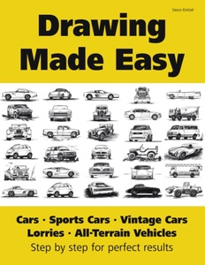 Drawing Made Easy: Cars, Lorries, Sports Cars, Vintage Cars, All-Terrain Vehicles | Dodax.ch