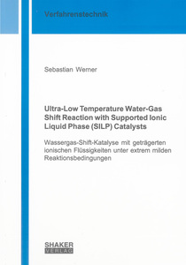 Ultra-Low Temperature Water-Gas Shift Reaction with Supported Ionic Liquid Phase (SILP) Catalysts | Dodax.ch