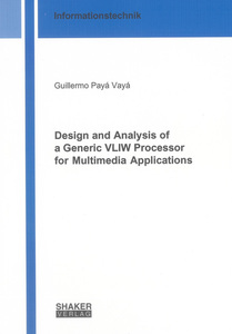 Design and Analysis of a Generic VLIW Processor for Multimedia Applications | Dodax.ch