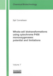 Whole-cell biotransformations using cytochrome P450 monooxygenases: potential and limitations | Dodax.ch