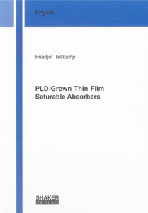 PLD-Grown Thin Film Saturable Absorbers | Dodax.ch