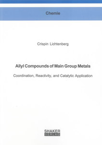 Allyl Compounds of Main Group Metals | Dodax.ch
