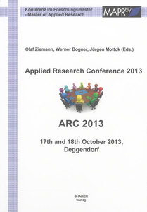 Applied Research Conference 2013 | Dodax.ch