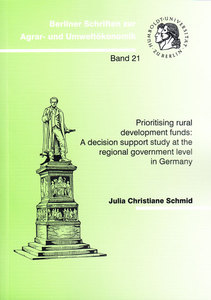 Prioritising rural development funds: A decision support study at the regional government level in Germany | Dodax.ch