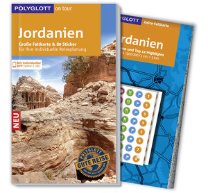 POLYGLOTT on tour Reiseführer Jordanien | Dodax.co.uk
