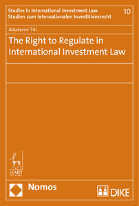 The Right to Regulate in International Investment Law | Dodax.pl
