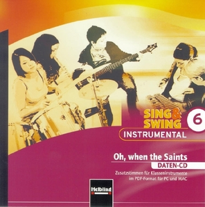 Sing & Swing Instrumental 6. Oh, when the Saints. Daten-CD | Dodax.at