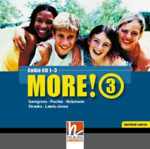 MORE! 3 Enriched Course Audio CD 1-3 | Dodax.ch