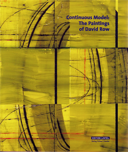 Continuous Model: The Paintings of David Row | Dodax.pl