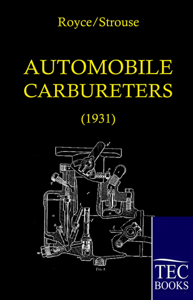 Automobile Carbureters, 2 Vols. | Dodax.at