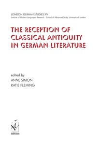 The reception of classical antiquity in german literature   Dodax.ch