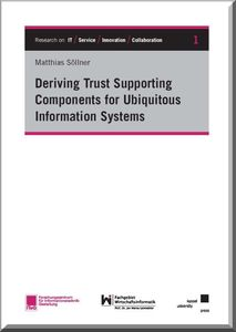 Deriving Trust Supporting Components for Ubiquitous Information Systems | Dodax.at
