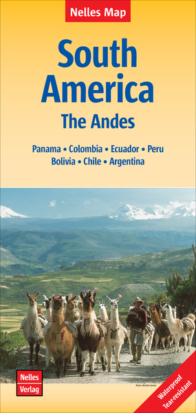 Nelles Map Landkarte South America: The Andes | Dodax.ch