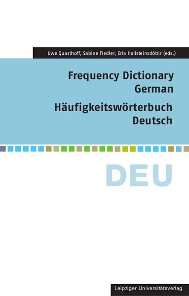Frequency Dictionary German, w. CD-ROM | Dodax.at