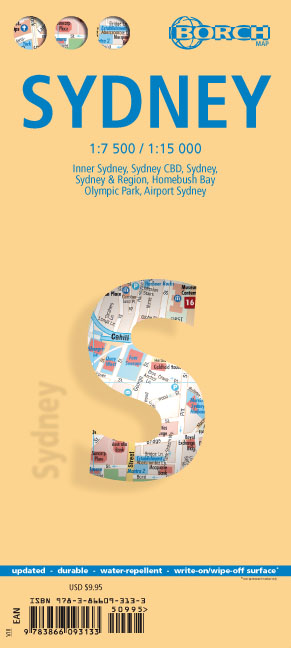 Borch Map Sydney | Dodax.ch