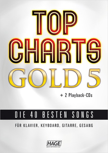 Top Charts Gold 5 + 2 Playback CDs | Dodax.pl