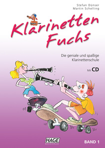 Klarinetten Fuchs Band 1 mit CD | Dodax.es