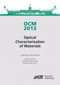 OCM 2013 - Optical Characterization of Materials - conference proceedings | Dodax.de