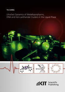 Ultrafast Dynamics of Metalloporphyrins, DNA and Iron-Lanthanide Clusters in the Liquid Phase | Dodax.ch