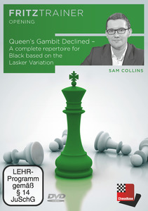 Queen's Gambit Declined - A complete repertoire for Black based on the Lasker Variation, DVD-ROM | Dodax.ch
