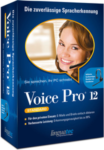 linguatec Voice Pro 12, 1 CD-ROM + Headset (Standard) | Dodax.ch