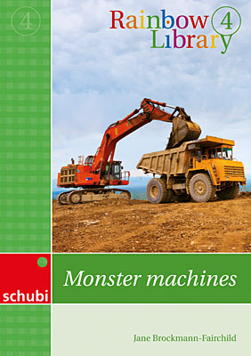 Rainbow library 4 - Monster machines | Dodax.ch