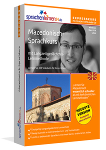 Mazedonisch-Expresskurs, PC CD-ROM m. MP3-Audio-CD | Dodax.ch