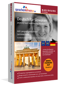 Deutsch für Slowaken Basiskurs, PC CD-ROM | Dodax.at
