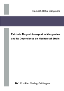 Extrinsic Magnetotransport in Manganites and its Dependence on Mechanical Strain | Dodax.ch