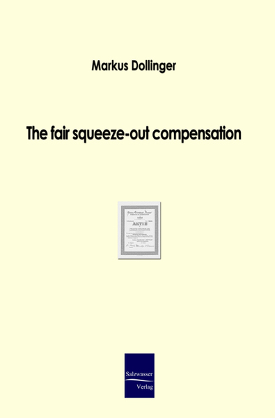 The fair squeeze-out compensation | Dodax.at