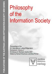Philosophy of the Information Society | Dodax.at