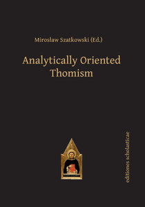 Analytically Oriented Thomism | Dodax.ch