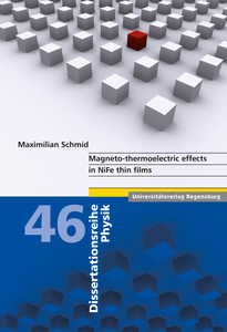Magneto-thermoelectric effects in NiFe thin films | Dodax.de