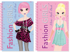 Fashion Girls, Mini-StyleBuch | Dodax.de