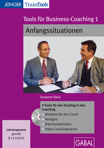 Tools für Business-Coaching, CD-ROM. Tl.1 | Dodax.ch