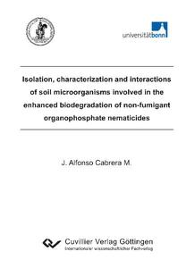 Isolation, characterization and interactions of soil microorganisms involved in the enhanced biodegradation of non-fumigant organophosphate nematicides   Dodax.com