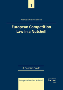 European Competition Law in a Nutshell | Dodax.ch