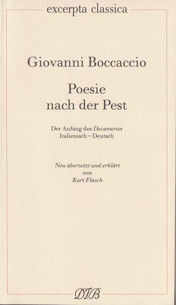 Poesie nach der Pest | Dodax.at